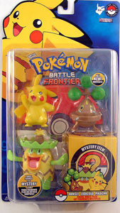 Pokemon Battle Frontier: Bonsly, Pikachu, Ludicolo