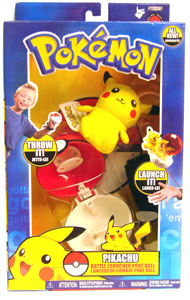 Pokemon Battle Frontier: Throw Pokeball Pikachu
