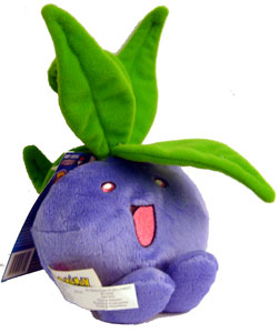 Pokemon Battle Frontier: 6-Inch Oddish Plush