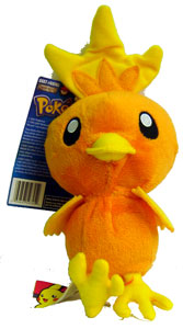 Pokemon Battle Frontier: 6-Inch Torchic Plush