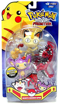 Pokemon Battle Frontier: Meowth, Groudon, Aipom