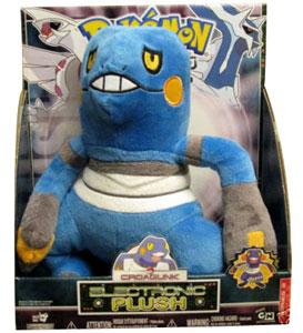 12-Inch Pokemon Electronic Plush Croagunk