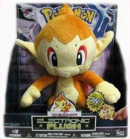 12-Inch Pokemon Electronic Plush Chimchar