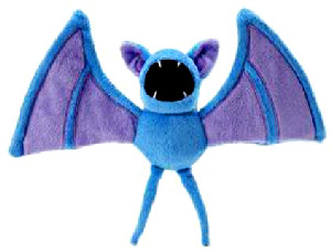 Pokemon Diamond and Pearl Mini Plush - Zubat
