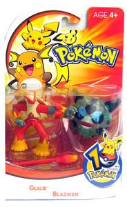 Pokemon: Glalie, Blaziken