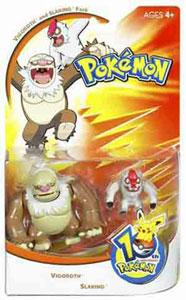 Pokemon: Vigoroth and Slaking