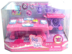 MY LITTLE PONY CRYSTAL RAINBOW DINING ROOM