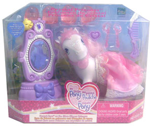 MY LITTLE PONY DESERT ROSE AS THE CRYSTAL SLIPPER PRINCESS