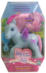 MY LITTLE PONY CRYSTAL PRINCESS Pegasus Pony TWIRLERINA