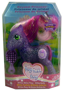 MY LITTLE PONY DIVINE SHINE GLITTERBELLE Pony