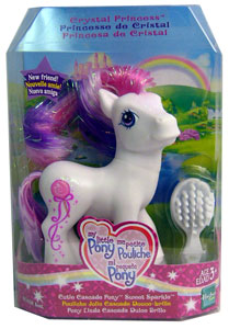 MY LITTLE PONY CRYSTAL PRINCESS CUTIE CASCADE Pony SWEET SPARKLE