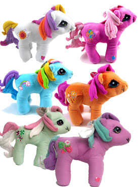 My Little Pony 6 Inch Plush Set of 6