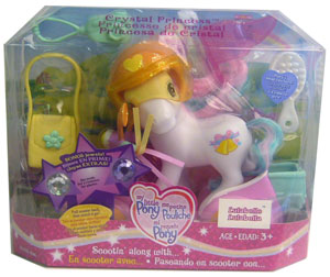 MY LITTLE PONY SCOOTIN ALONG with LULABELLE Pony