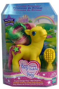 MY LITTLE PONY CRYSTAL DESIGN STAR SUPRISE Pony