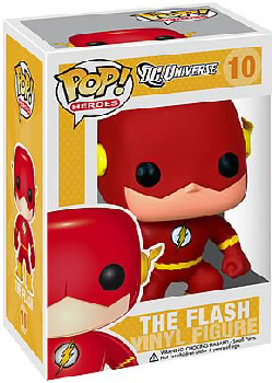 DC Universe Pop Heroes 3.75 Vinyl - The Flash