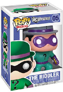 DC Universe Pop Heroes 3.75 Vinyl - The Riddler