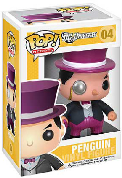 DC Universe Pop Heroes 3.75 Vinyl - The Penguin