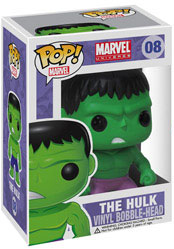 Marvel Pop Heroes 3.75 Vinyl - Hulk