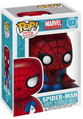 Marvel Pop Heroes 3.75 Vinyl - Spider-Man