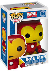 Marvel Pop Heroes 3.75 Vinyl - Iron Man