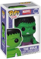 Marvel Pop Heroes 3.75 Vinyl - Hulk