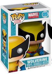 Marvel Pop Heroes 3.75 Vinyl - Wolverine