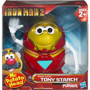 Mr Potato Head - Iron Man 2 - Tony Starch