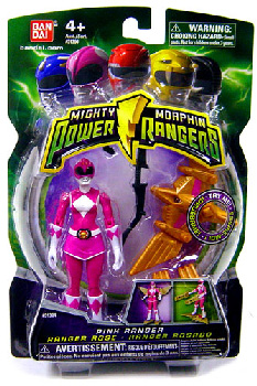 Power Rangers Mighty Morphin - 4-Inch - Pink Ranger