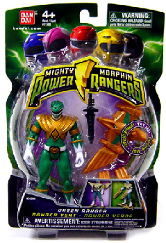 Power Rangers Mighty Morphin - 4-Inch - Green Ranger