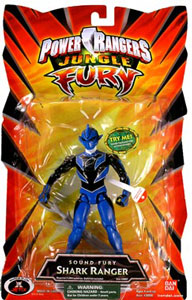 Power Rangers Jungle Fury - Sound Fury - Shark Ranger