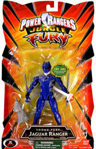Power Rangers Jungle Fury - Sound Fury - Jaguar Ranger