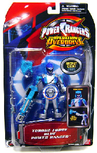 Power Rangers Operation Overdrive - Torque Force Blue Power Ranger