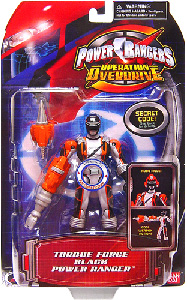 Power Rangers Operation Overdrive - Torque Force Black Power Ranger