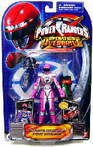 Power Rangers Operation Overdrive - Mission Response Pink Ranger