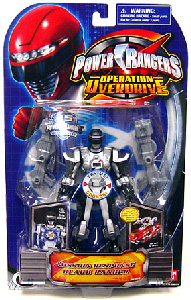 Power Rangers Operation Overdrive - Mission Response Black Ranger