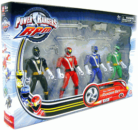 Power Rangers RPM - Full Throttle Set of 4 Rangers