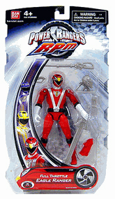 Power Rangers RPM - Full Throttle Red Eagle Ranger