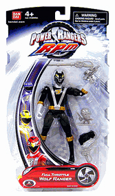Power Rangers RPM - Full Throttle Black Wolf Ranger