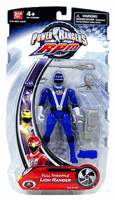 Power Rangers RPM - Full Throttle Blue Lion Ranger