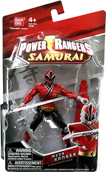 Power Rangers Samurai - 4-Inch Red Mega Ranger