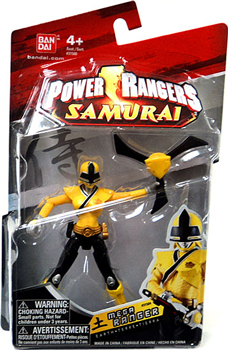 Power Rangers Samurai - 4-Inch Yellow Mega Ranger