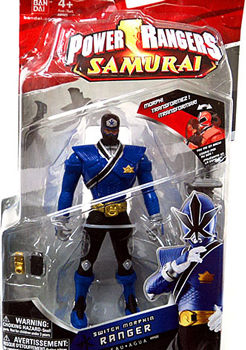 Power Rangers Samurai - Blue Switch Morpher Ranger