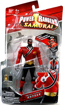 Power Rangers Samurai - Red Switch Morpher Ranger