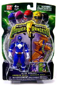 Power Rangers Mighty Morphin - 4-Inch - Blue Ranger