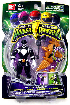 Power Rangers Mighty Morphin - 4-Inch - Black Ranger