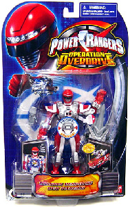 Power Rangers Operation Overdrive - Mission Response Red Power Ranger