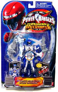 Power Rangers Operation Overdrive - Mission Response Blue Ranger