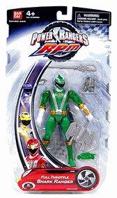 Power Rangers RPM - Full Throttle Green Shark Ranger