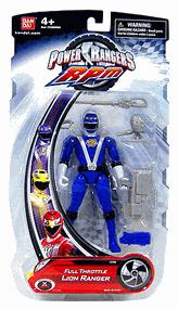 Power Rangers RPM - Full Throttle Blue Lion Ranger