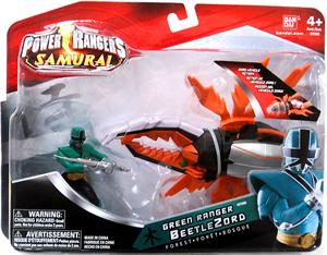 Power Rangers Samurai - Green Ranger BeetleZord